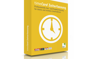 Reiner SCT timeCard 10 Zeiterfassung Basislizenz