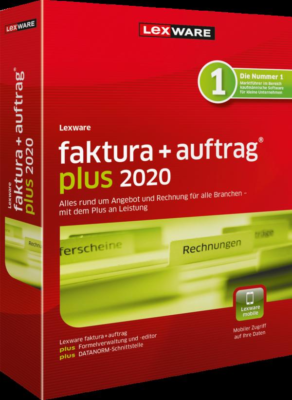 Lexware faktura+auftrag plus 2020