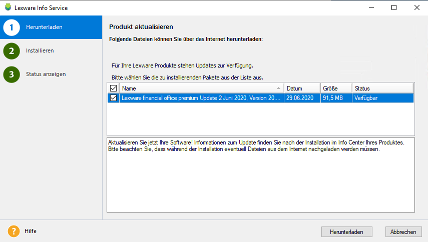 Das Lexware Update zur MwSt Senkung ist nun verfügbar!